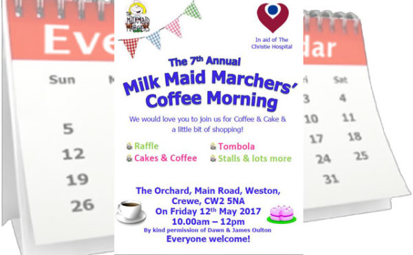 Milk Maid Marchers Coffee Morning Event