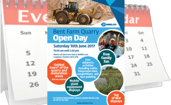 Sibelco Bent Farm Quarry Open Day 2017